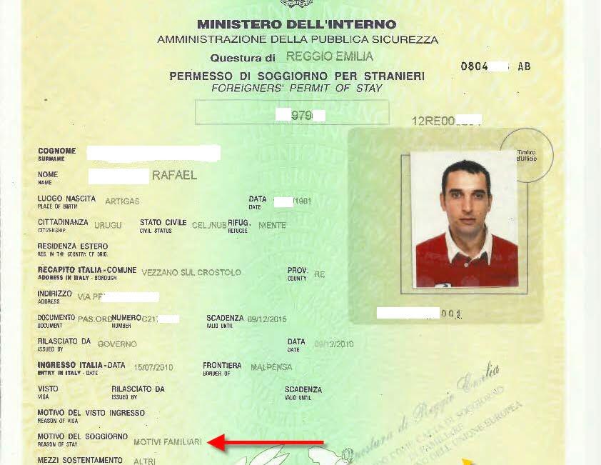 Questura Rilascia Permesso Di Soggiorno A Uruguayano Sposato In Spagna Con Italiano Che Aveva Vinto Ricorso Al Tribunale Di Reggio Emilia Certi Diritti