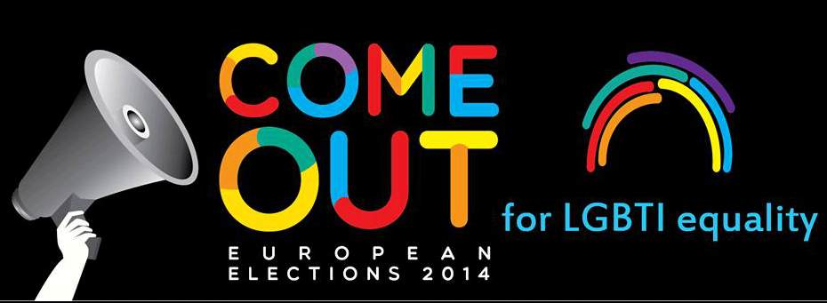 """Come Out!"": da ILGA-Europe Una richiesta di impegno per i candidati alle europee"