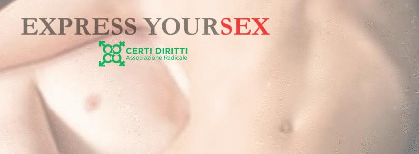 Express YourSex: libera il sesso e te stesso